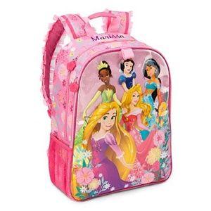 "Disney Store Princess Backpack 16"" NWT"